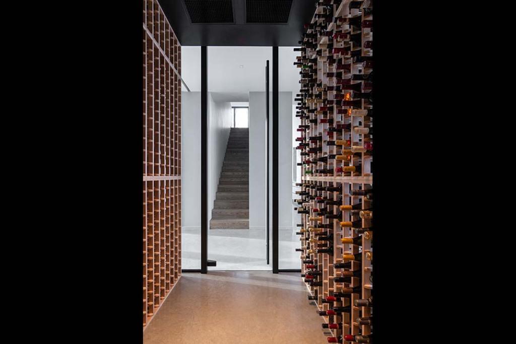 Profesjonalna piwniczka na wino