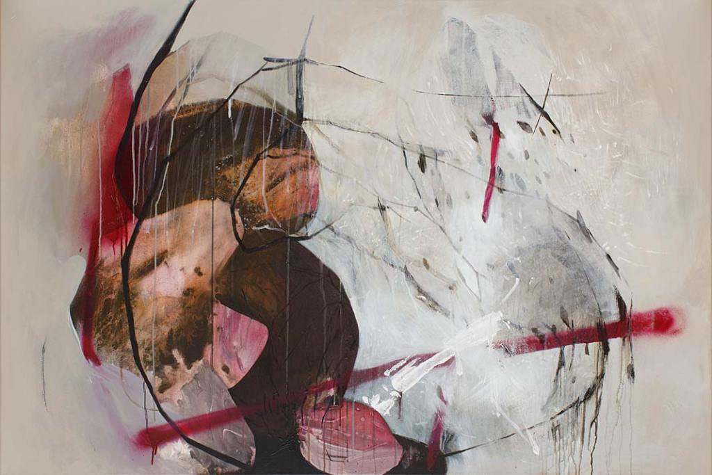 Rynek sztuki. Agata Czeremuszkin‑Chrut, Otoczaki 30, 2020, olej, płótno, 100 x 150cm