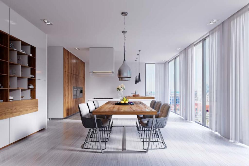 Dekoracja okien wykonana przez firmę Marcin Dekor