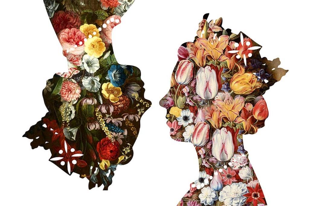 Dekoracja ścienna Queen(White remix) od Mineheart