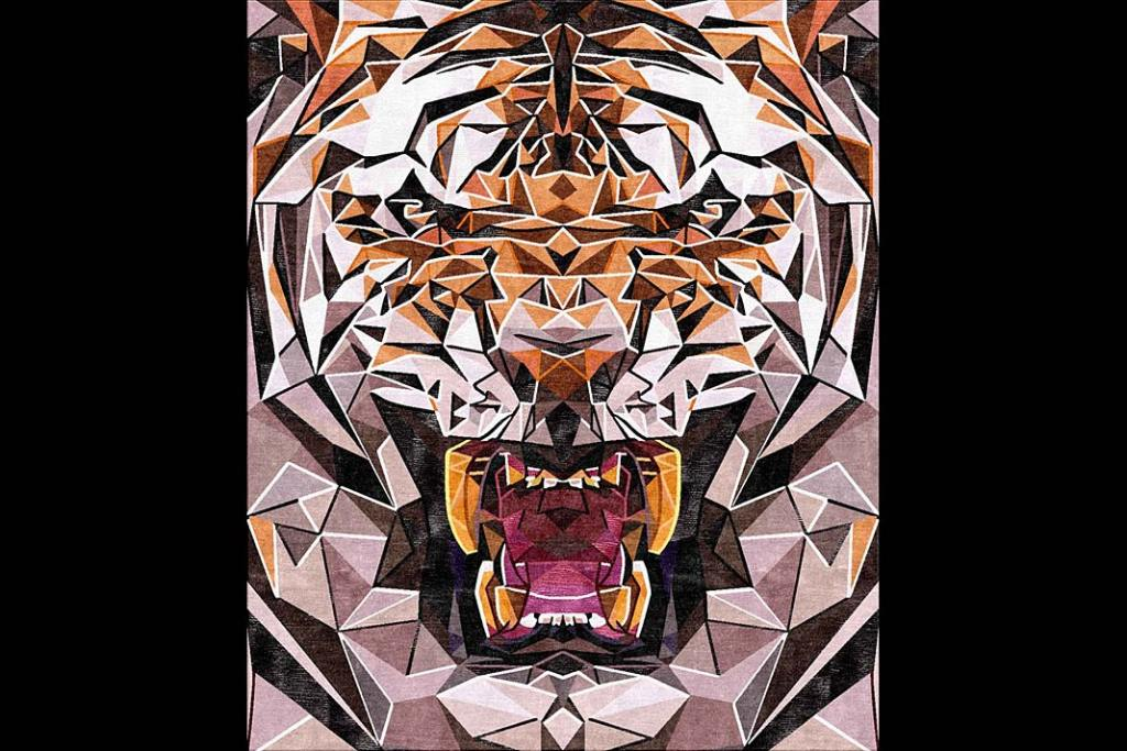 Motywy zwierzęce w aranżacji wnętrz. Dywan Makan marki Illulian