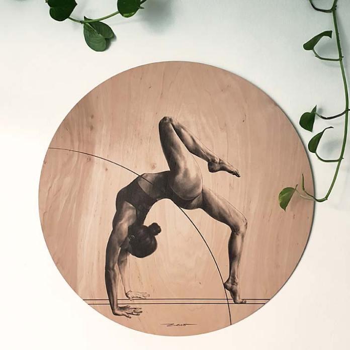 Grafika na sklejce z oferty Zew Gallery