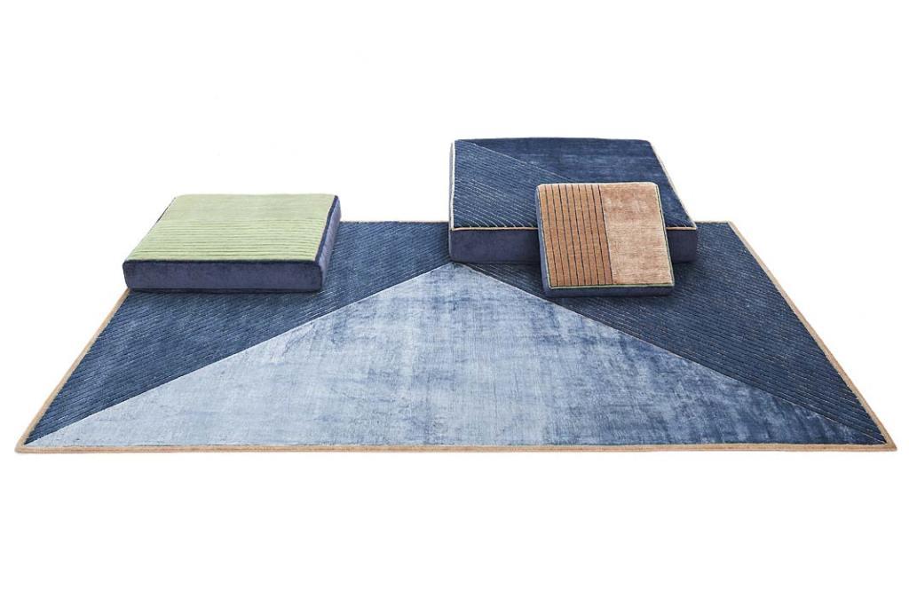 Modny design. Kolekcja poduszek idywanów Sombra marki Mohebban