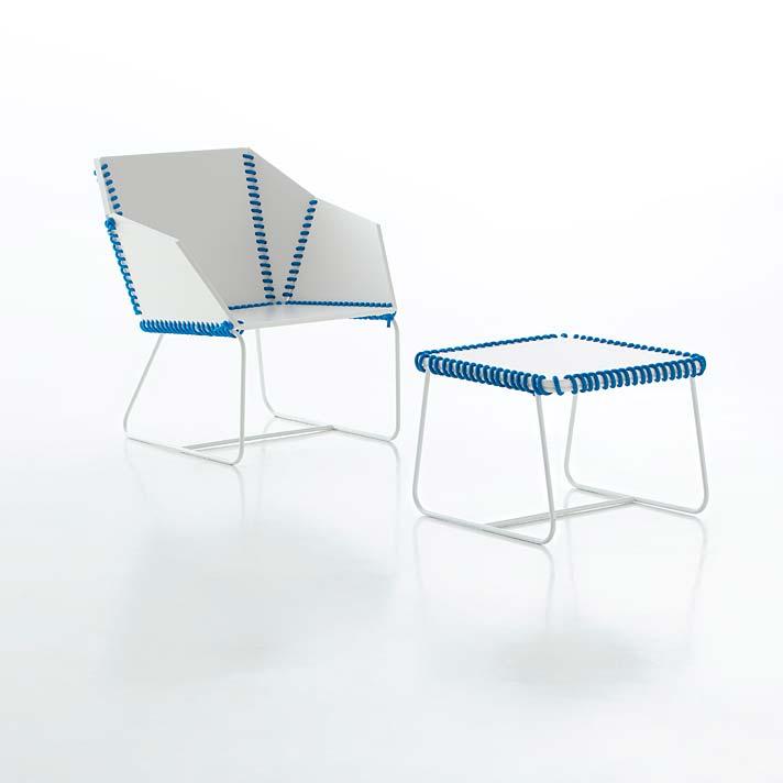 Krzesła Textile Gandiablasco projektu Any Llobet
