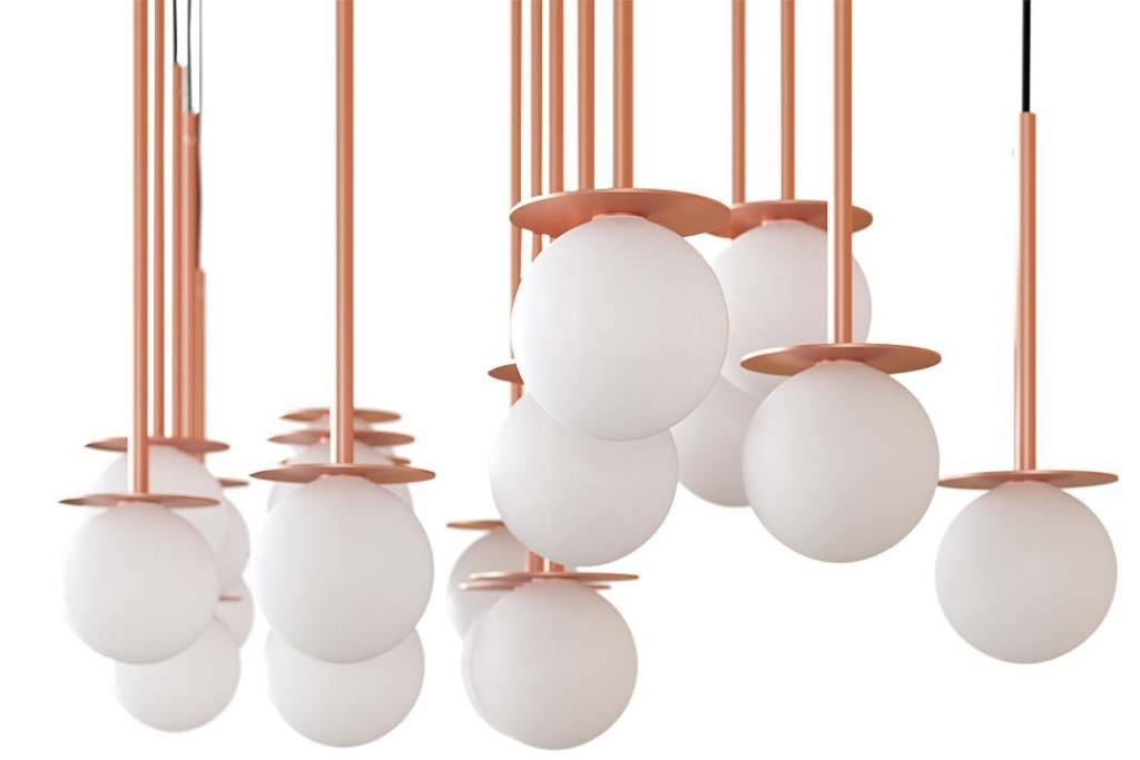 Lampa sufitowa Cotton Panel marki Cleoni