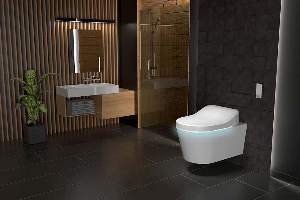 Łazienka z toaletą myjącą Uspa 6635