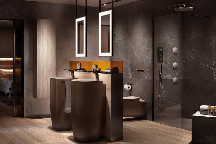 Łazienka z wyposażeniem marki Roca