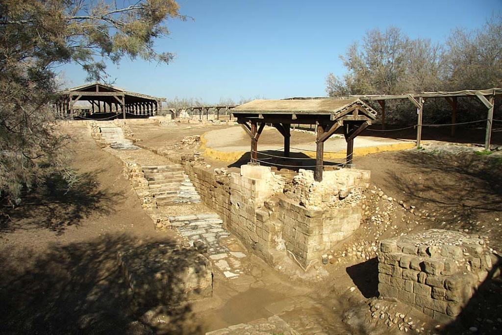 Miejsce chrztu Chrystusa w Betanii Zajordańskiej