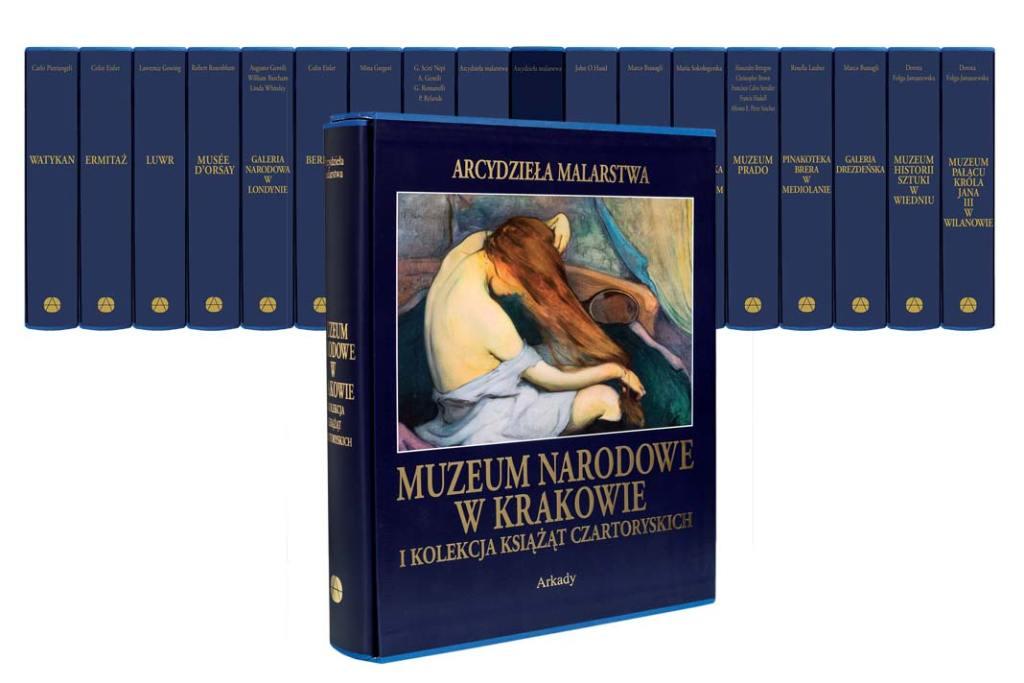 Muzeum Narodowe w Krakowie. Arcydzieła malarstwa seria Wydawnictwa ARKADY