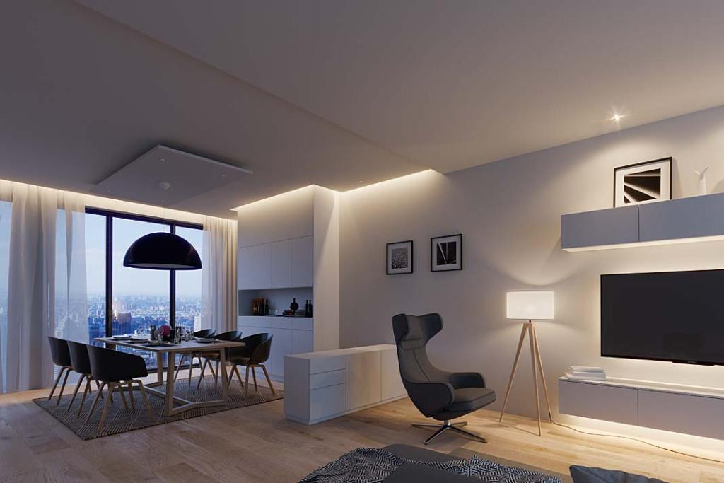Oświetlenie meblowe Loox LED od marki Hafele