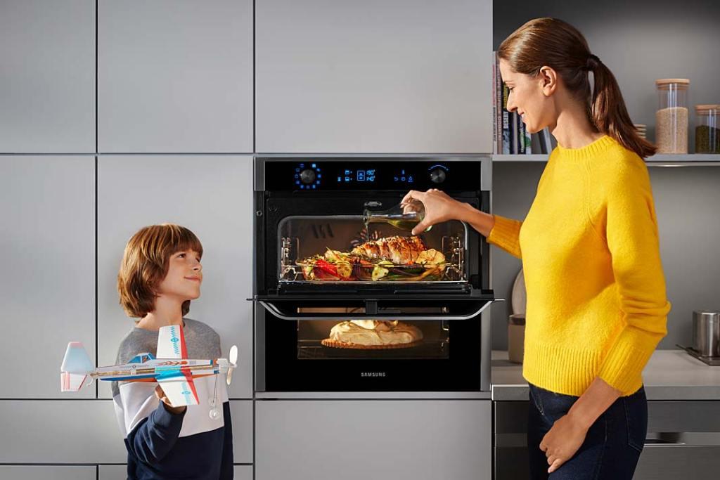 Dobre pomysły do kuchni. Piekarnik Dual Cook Flex™ Samsung