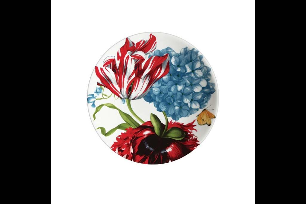 Modne wzory:  porcelanowy talerz z kolekcji Emotion marki Taitu