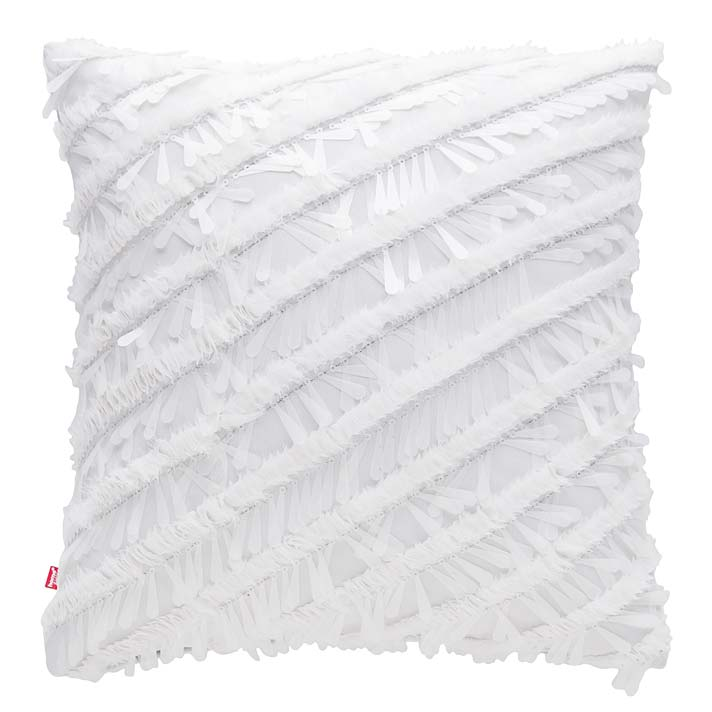 Modny kolor: biel. Poszewka na poduszkę Klea od home&you