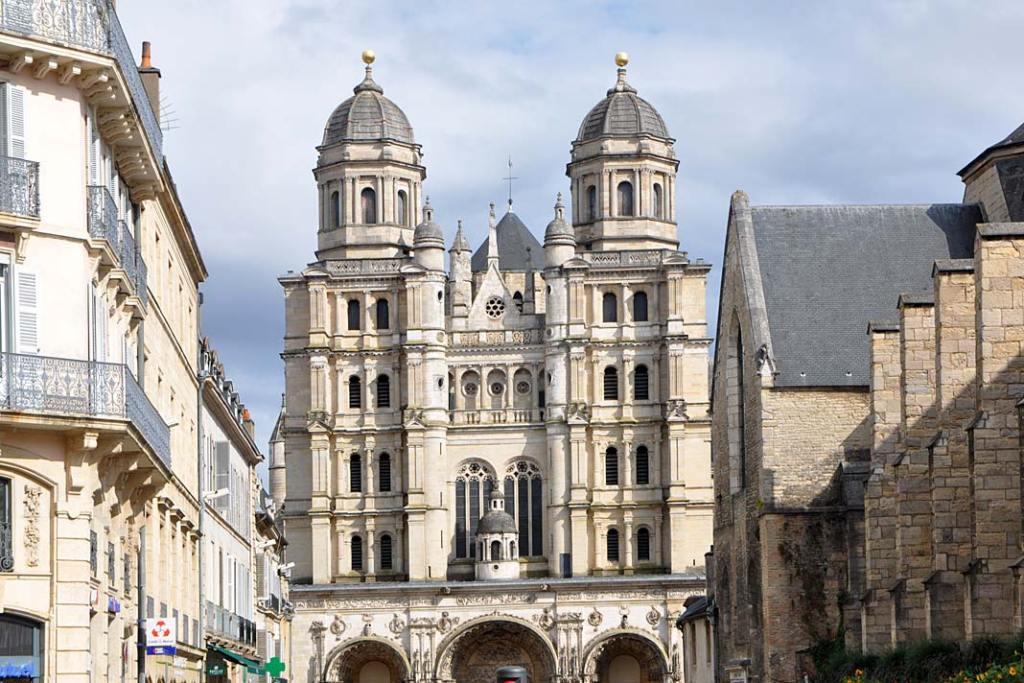 Renesansowy kościół św. Michała w Dijon