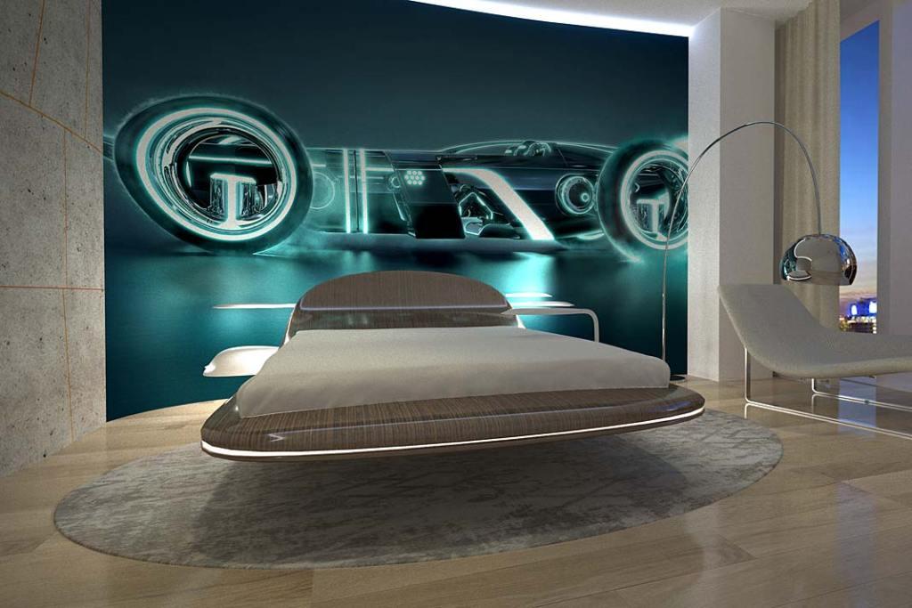 Luksusowe wnętrze:  sypialnia inspirowana kształtami ekskluzywnych jachtów Go.Ce Design