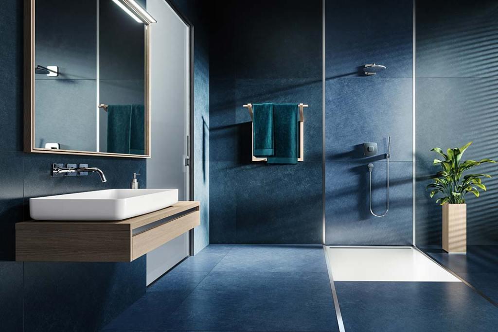 System Nexsys marki Kaldewei. Kolor roku 2020, łazienka