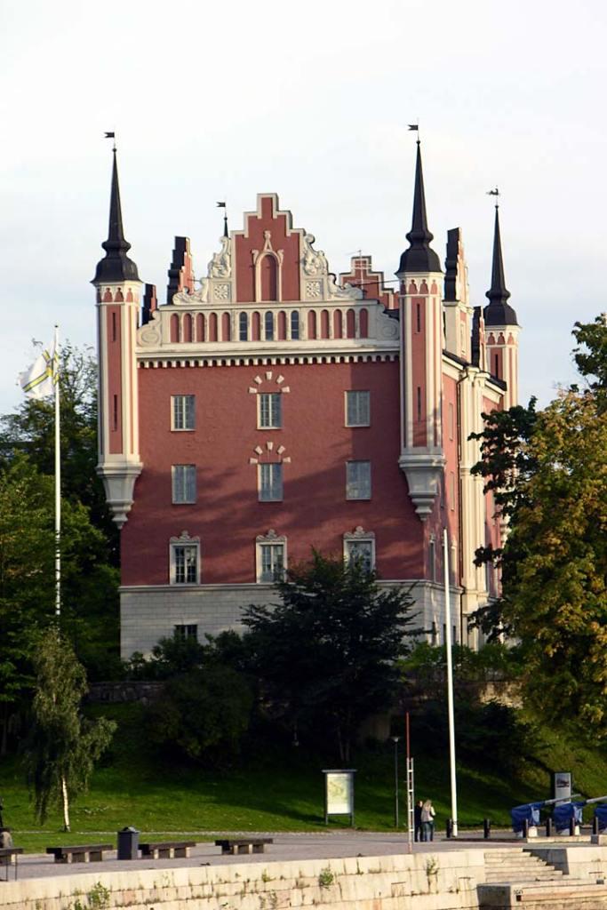 Sztokholm budynek wstylu klasycystycznym. Atrakcje Szwecji