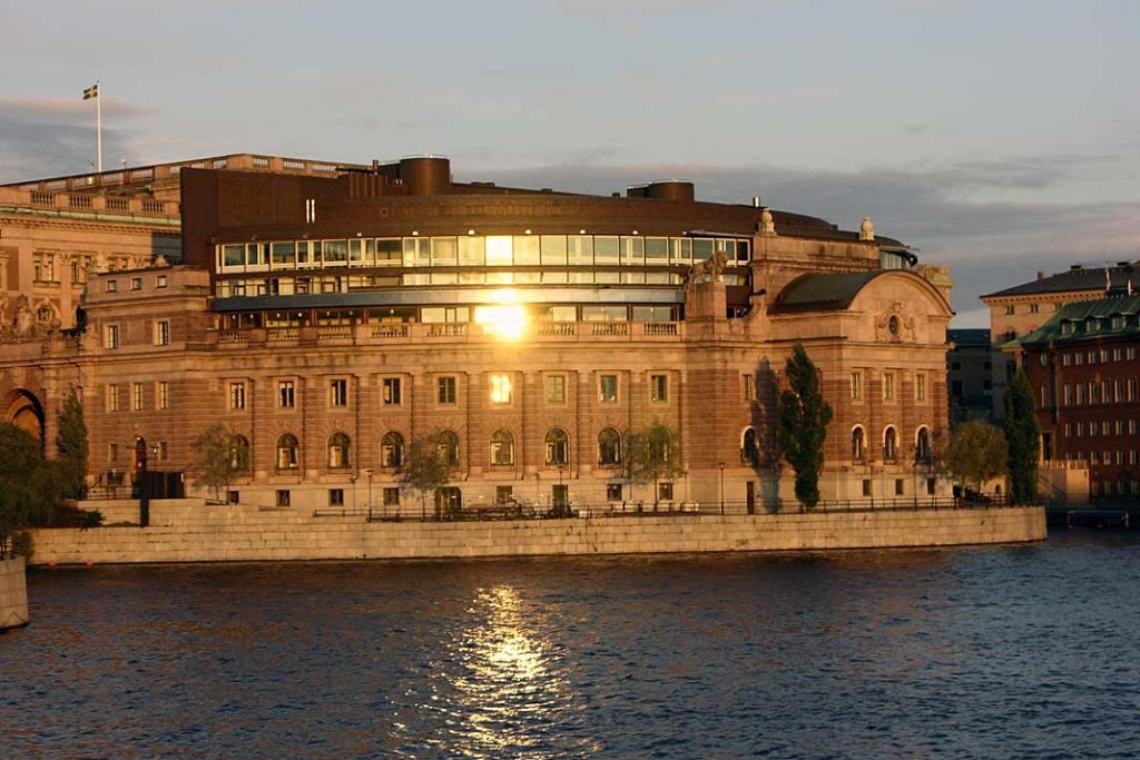 Szwedzki parlament. Atrakcje Szwecji