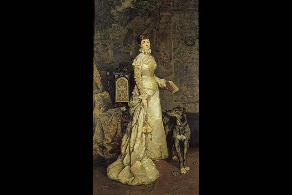 Tadeusz Ajdukiewicz, Portret Heleny Modrzejewskiej. Ze zbiorów Muzeum Narodowego w Krakowie