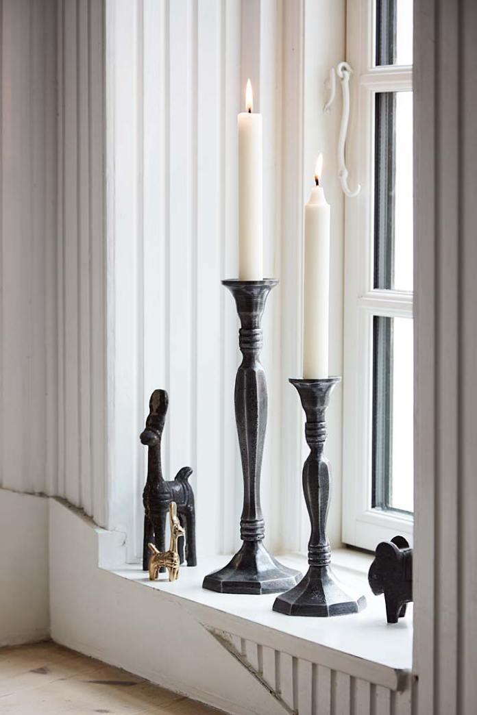 Żelazne świeczniki od Sika Design