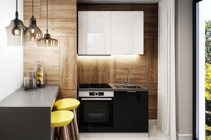Akrylowe fronty kuchenne. Białe szafki Akrylic marki Classen