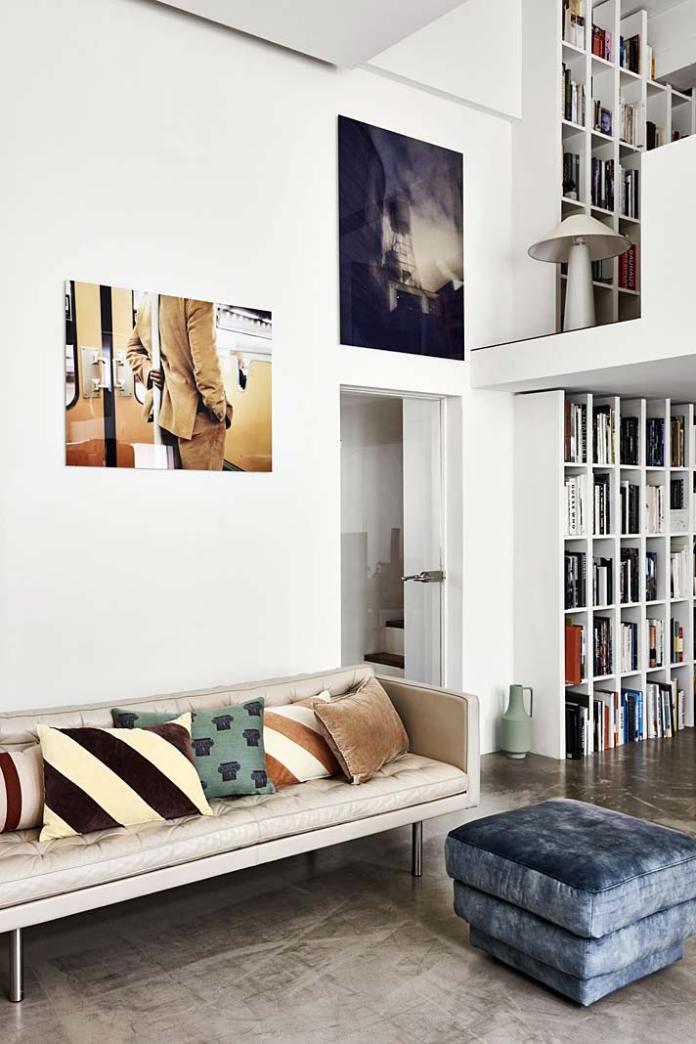 Biały regał na książki - HK Living z oferty DutchHouse