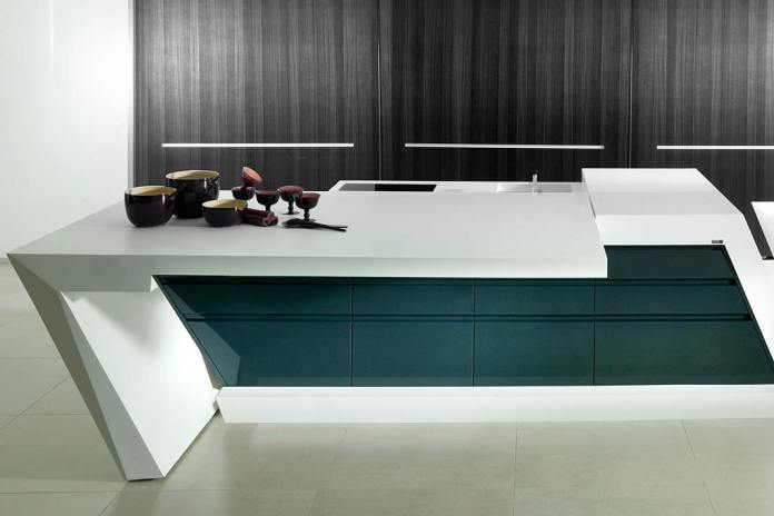 Blat kompozytowy marki KRION zmateriału Solid Surface