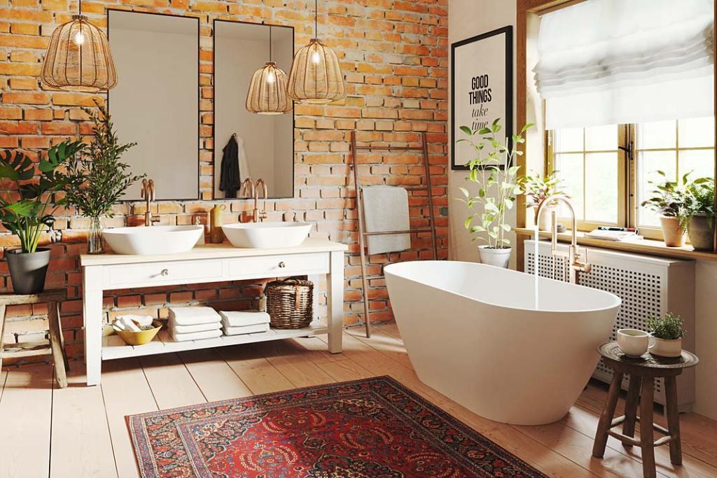 Przytulna łazienka. Kolekcja Salma marki Fjordd