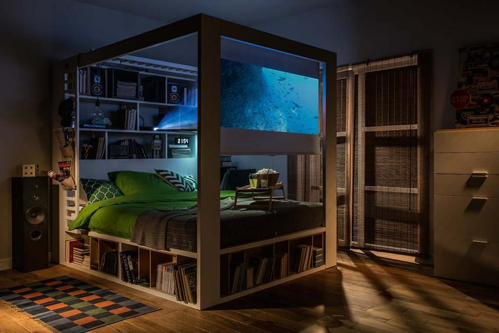 Małe mieszkanie. Multifunkcjonalne łóżko VOX 4 You