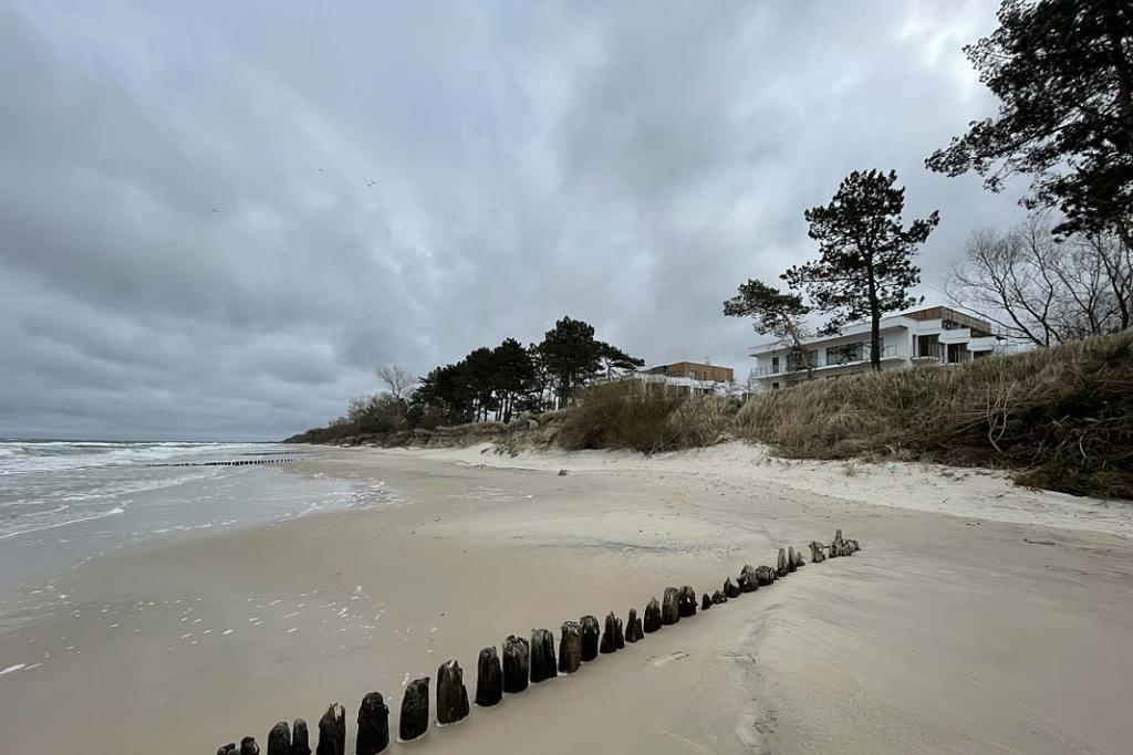 Nowoczesne apartamenty 17 metrów od plaży, miejscowość Gąski koło Mielna