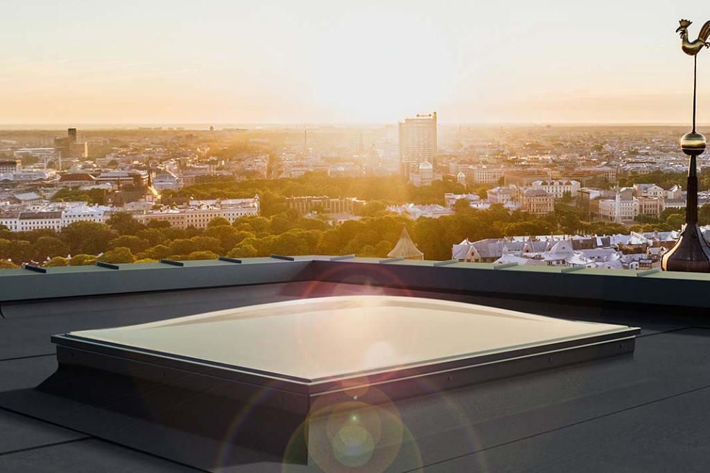 Okno do dachu płaskiego PGX B6 Spherline Okpol