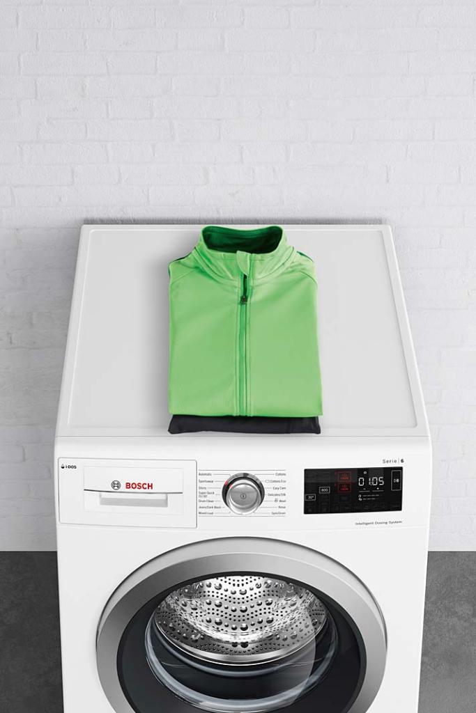 Pralki Bosch z Serii 6 mają funkcję higienicznego odświeżania ubrań bez wody