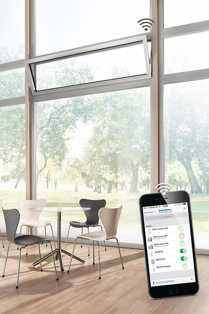 Duże okna w domu. Rozwiązanie Siegenia DRIVE axxent DK
