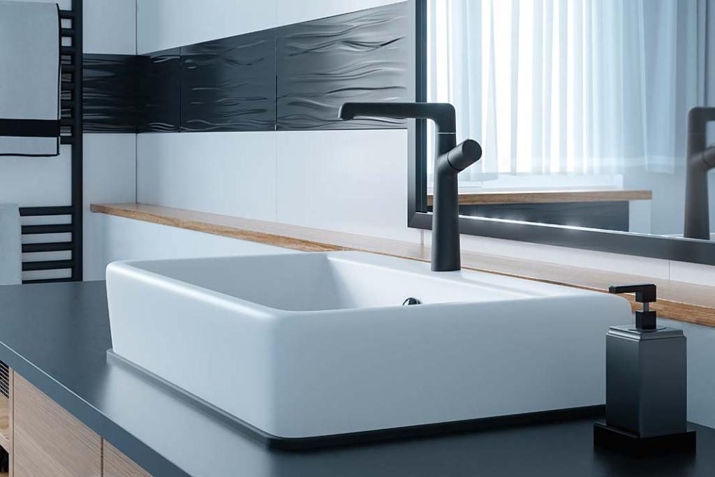 Sposoby oszczędzania wody. Bateria umywalkowa Pretto Laveo z aeratorem Neoperi