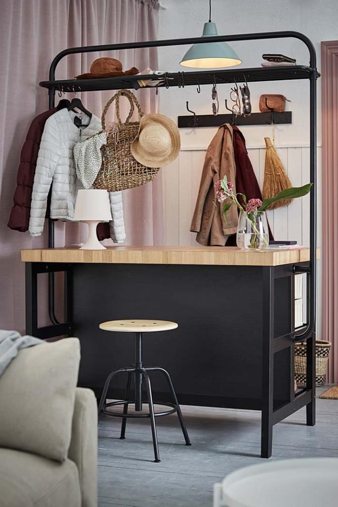 Sprytne meble do małych pomieszczeń. Wyspa Vadholma od IKEA