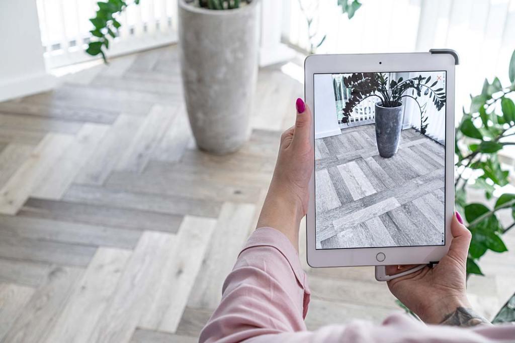 Aplikacja DigiFloors od Jawor Parkiet pozwala stworzyć wirtualny projekt wnętrza