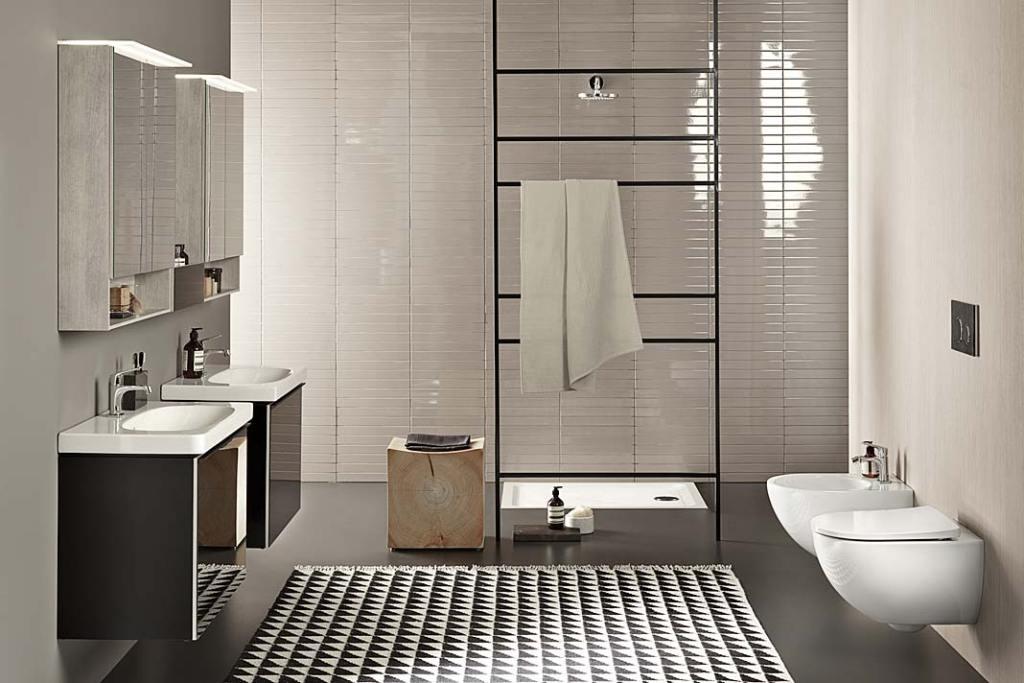 Aranżacja łazienki z kolekcji Geberit Acanto