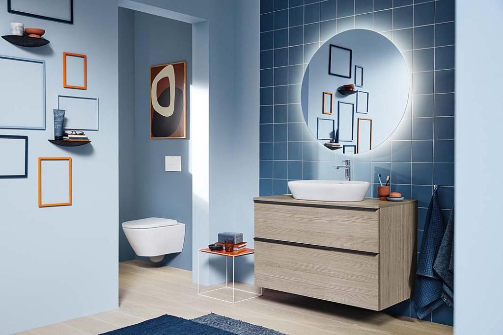Higieniczna łazienka, aranżacja z wyposażeniem D-Neo marki Duravit
