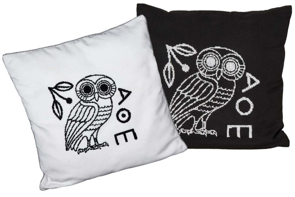 Dekoracyjne poduszki inspirowane kulturą Starożytnej Grecji