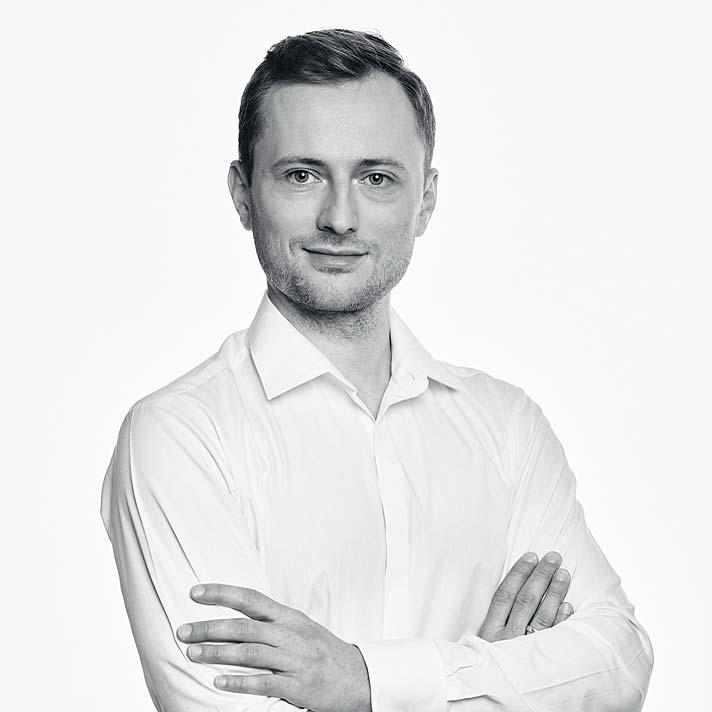 Jakub Szeląg, architekt wnętrz pracowni Decoroom