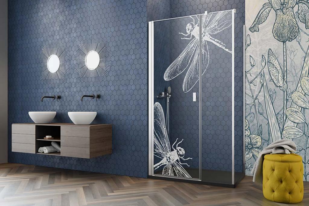 Konfigurator niestandardowych kabin prysznicowych marki Radaway