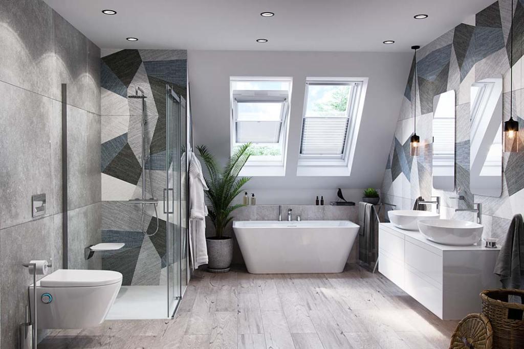 Łazienka z toaletą myjącą Dakota marki Excellent