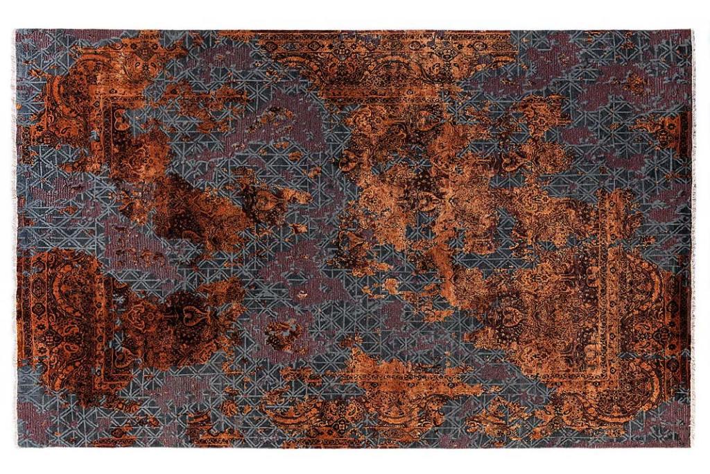 Modny dekor, adamaszkowy dywan Carpet Edition