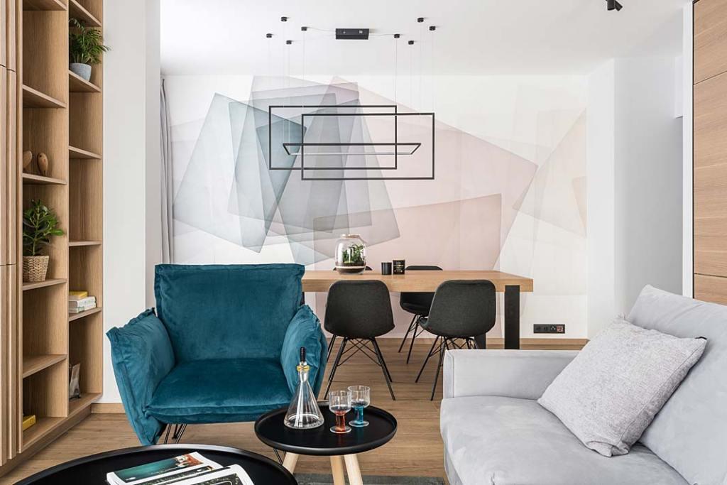 Nowoczesny apartament dla rodziny. Projekt Studio Projekt