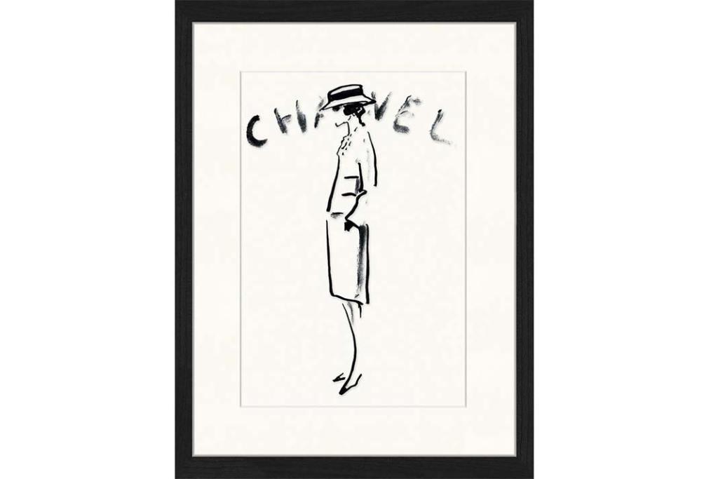 Oprawiony druk cyfrowy Chanel z WestwingNow