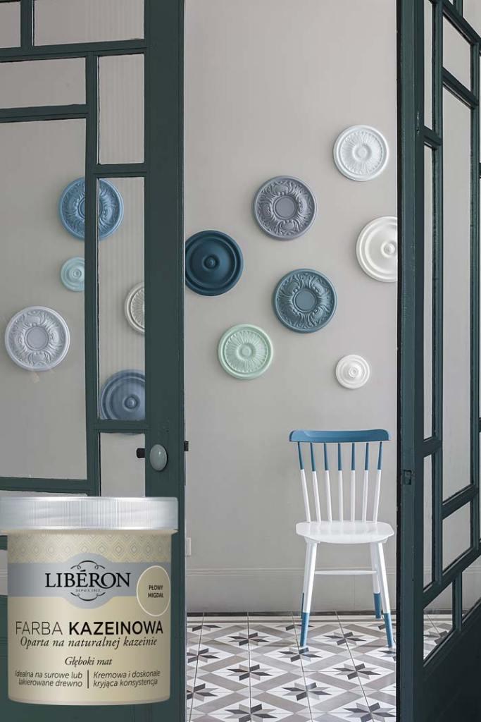 Prosty remont kuchni, zmiana koloru mebli i ścian z farbami Liberon