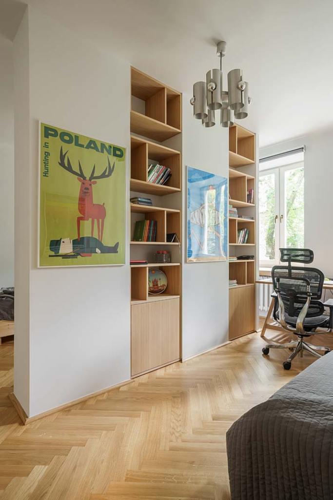 Ściany pokoju nastolatków zdobią plakaty polskich grafików