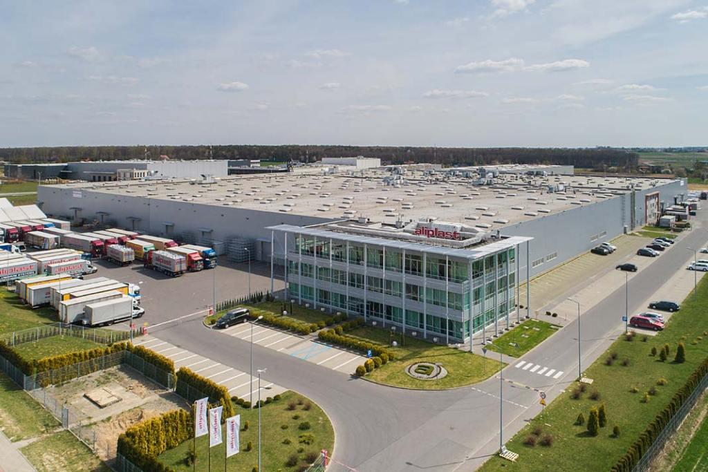 Siedziba firmy Aliplast w Lublinie