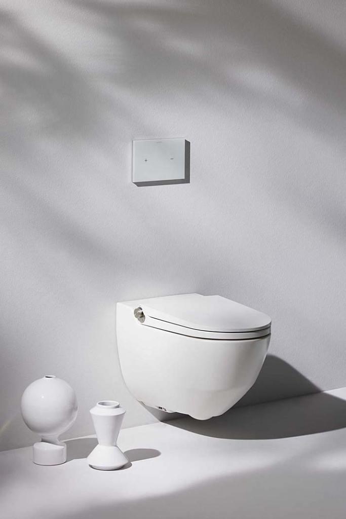 Toaleta myjąca Laufen Riva z funckją czyszczenia termicznego