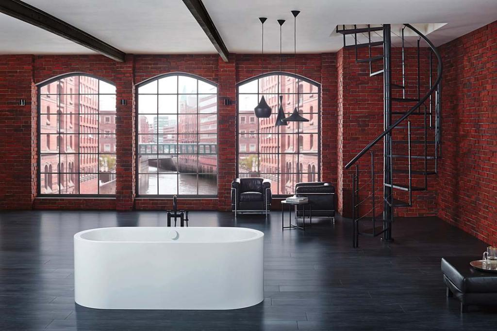 Wanna wolnostojąca ze stali emaliowanej, model Meisterstueck Centro Duo Oval marki Keldewei